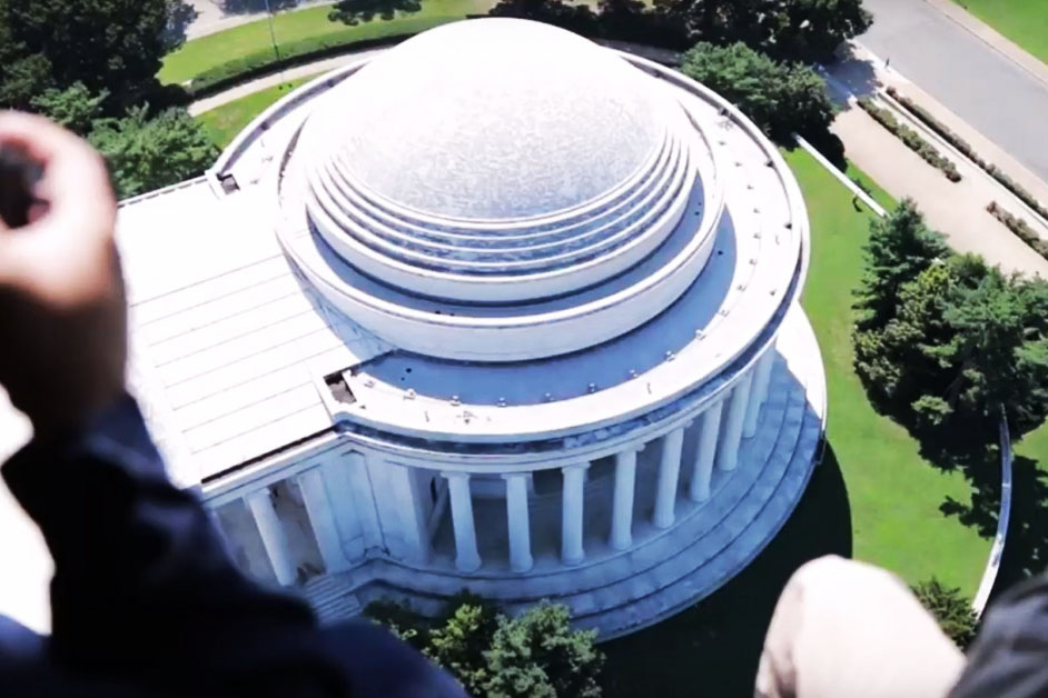 Mapping Biofilm at the Thomas Jefferson Memorial